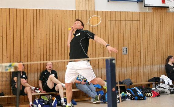 Unentschieden im Badminton-Auswärtsspiel beim BC Düsseldorf