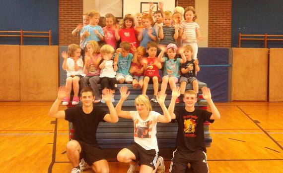 Turnhallen-Sport für Kinder