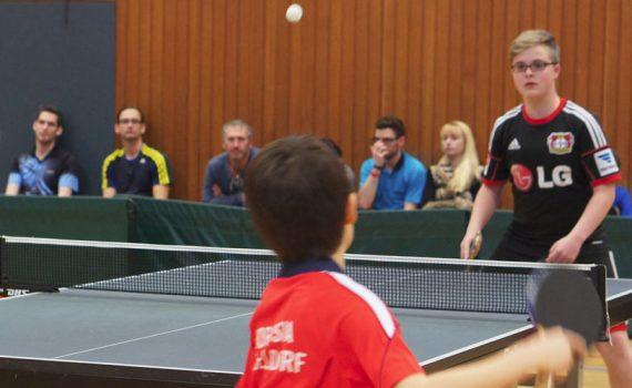 Tischtennis Vereinsmeisterschaft 2015