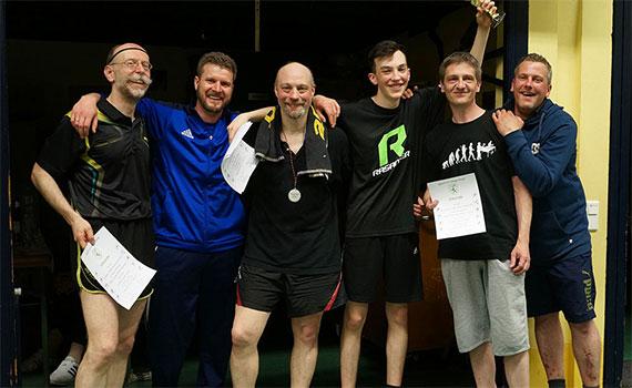 Tischtennis Stadtmeisterschaften 2018 in Langenfeld