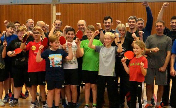 Tischtennis Vereinsmeisterschaft 2019